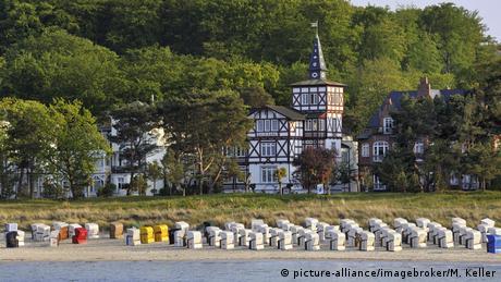 Морской курорт Бинц на острове Рюген
