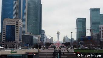 В Нур-Султане - столице Казахстана - меры по борьбе с эпидемией особенно жесткие (фото из архива)