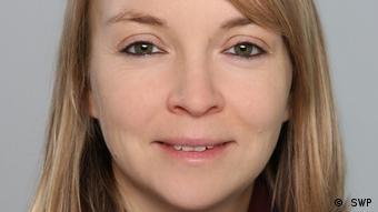 Close up portrait of Africa expert Melanie Müller