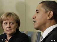 Νωρίτερα, η καγκελάριος είχε συνομιλία με τον πρόεδρο Μπαράκ Ομπάμα
