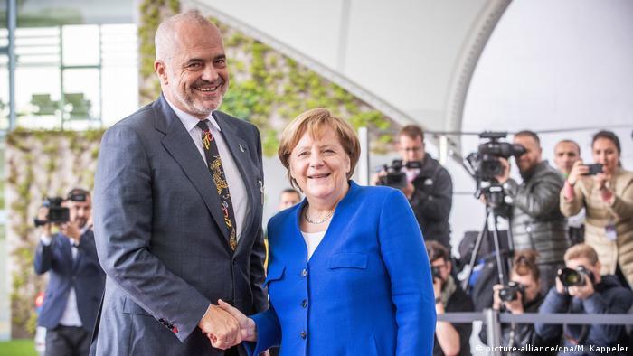 Deutschland Balkan-Treffen in Berlin | Merkel und Rama