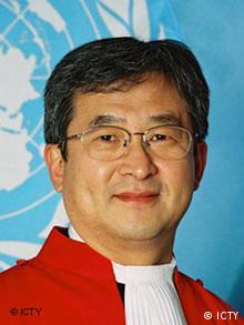 Vorsitzender Richter O-Gon Known (Foto: ICTY)