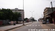 Togo Straßenszene in Lome
