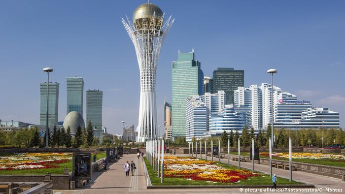 Kasachstan Stadtansicht Astana