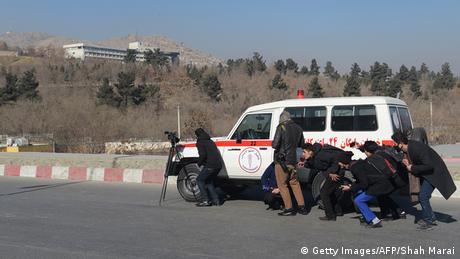 Afghanistan Fotograf SHAH MARAI   Schusswechsel