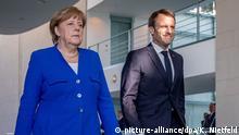 Deutschland Balkan-Treffen in Berlin | Merkel und Macron