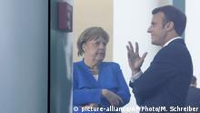 Deutschland Balkan-Treffen in Berlin   Merkel und Macron