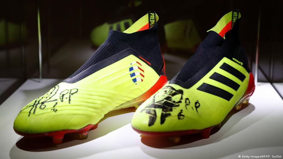 Paul Pogba′s World Cup-winning boots