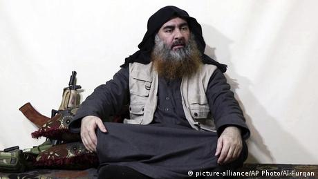 Irak Abu Bakr al-Baghdadi (picture-alliance/AP Photo/Al-Furqan)