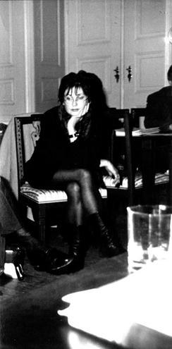 Sylvia Kabus beim Schriftstellerverband Leipzig (Foto: privat)