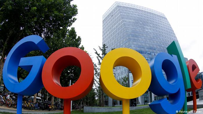 Google-Logo in Beijing