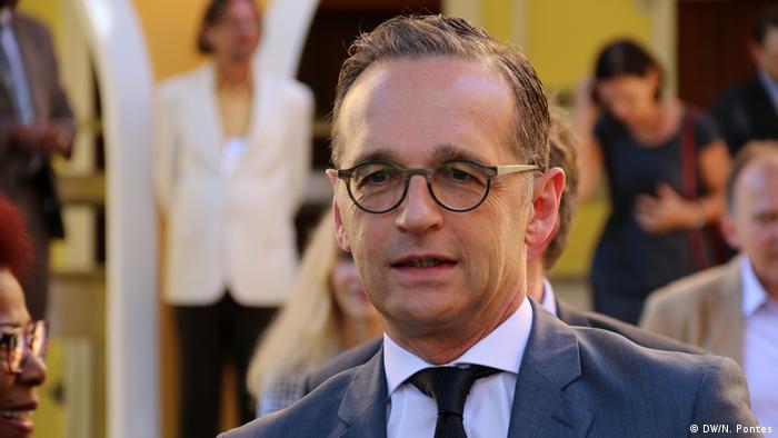 هایکو ماس، وزیر خارجه آلمان که حزب سبزها خواستار سفر فوری او به تهران است