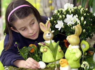 Conejos y huevos: parte esencial de una Pascua infantil.