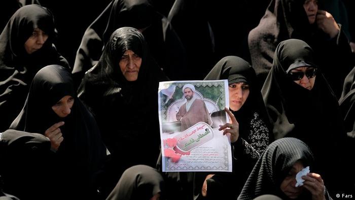 Iran Trauerzug für Gesitlichen Mostafa Ghasemi