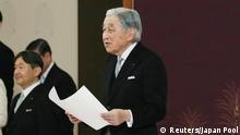 Japan Kaiser Akihito dankt ab