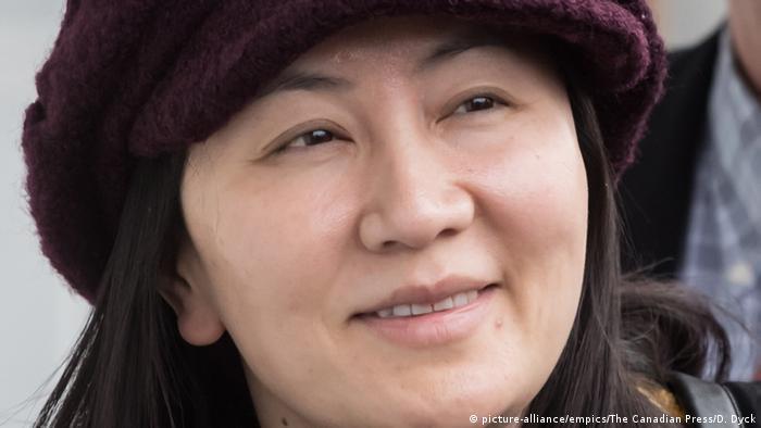 Sie soll der Auslöser der Krise sein: Finanzchefin Meng Wanzhou