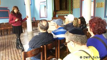 Η Εύη Μέσκα εξιστορεί την εβραϊκή ιστορία της Βέροιας σε επισκέπτες