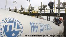 russland Bryansk - Druschba - Öl-Pipeline