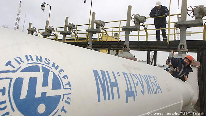 Нефтепровод Дружба в Брянской области