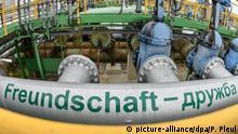 Brandenburg - Druschba - Öl-Pipeline
