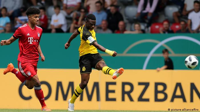 Fußball B-Jugend Saison 2017/2018 Finale Deutsche Meisterschaft, FC Bayern München - Borussia Dortmund