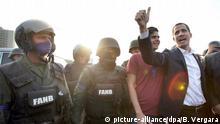 Krise in Venezuela Protest Zusammenstöße