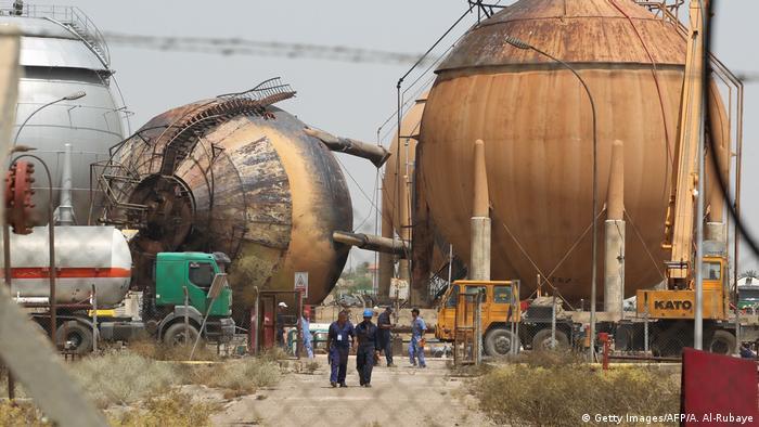 Irak Taji Gaswerk in Bagdad