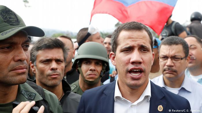 Venezuela Oppositionsführer Juan Guaido (Reuters/C.G. Rawlins)