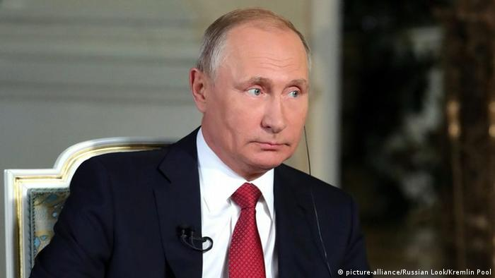 Russland Moskau Putin gibt Armin Wolf vom ORF ein Interview