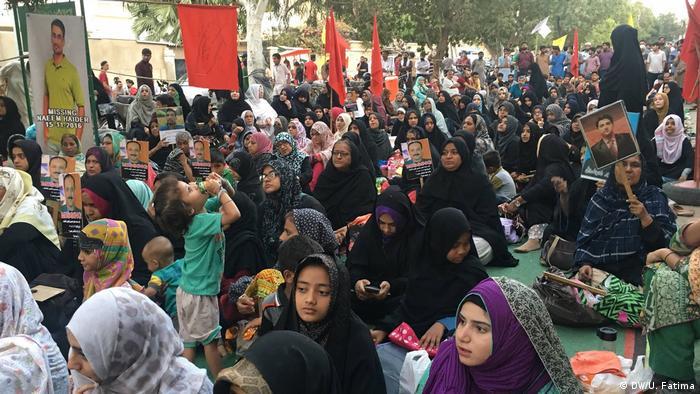 Pakistan Protest in Karatschi