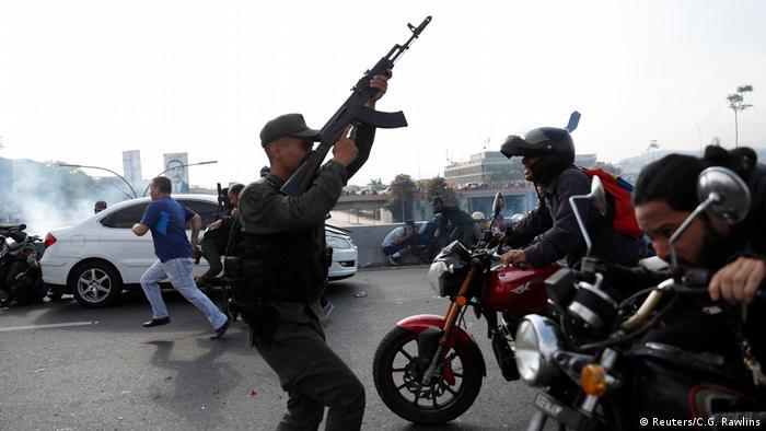 Venezuela Soldat Militär Miranda Airbase (Reuters/C.G. Rawlins)