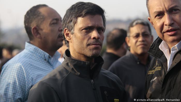لئوپولدو لوپز، رهبر سابق حزب اراده مردمیونزوئلا