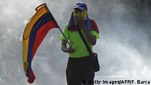 Venezuela politische Krise Ausschreitungen in Caracas