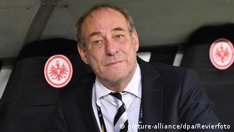 Eintracht Frankfurt's Peter Fischer