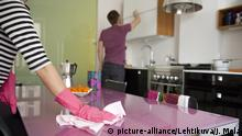 Symbolbild Haushalt - Hausarbeit