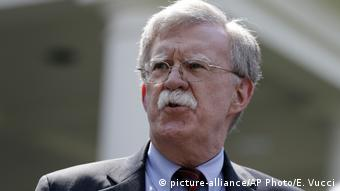 USA Washington Sicherheitsberater John Bolton (picture-alliance/AP Photo/E. Vucci)