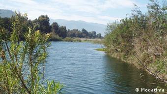 Chile Trockenheit Fluss in Planilla