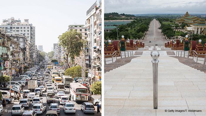 Myanmar - Yangon (Shwedagon) | Naypyidaw