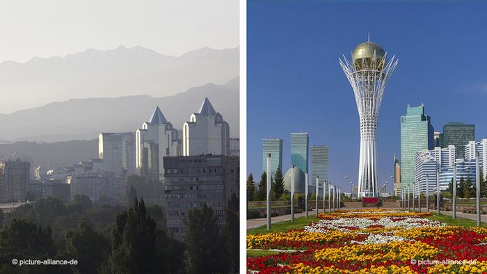 Kazakhstan - Alma-Ata |  Astana / Nur-Sultan
