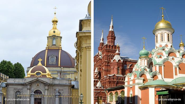 Russia - St. Petersburg |  Moscow