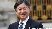 Thronwechsel Japan - Kronprinz Naruhito (picture-alliance/dpa/c. Ena)