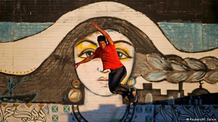 BDTD Gaza City Skatepark Jugendliche (Reuters/M. Salem)
