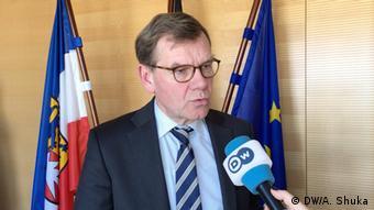 Johann Wadephul, MdB, stellvertretender Fraktionsvorsitzender CDU/CSU-Bundestagsfraktion (DW/A. Shuka)