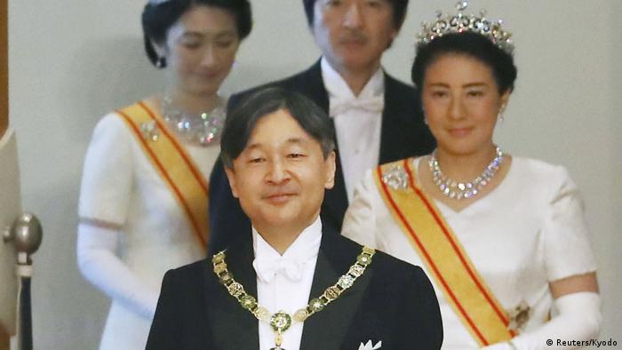 On Monday, the pope will meet Japanese Emperor Naruhito at the Imperial Palace in Tokyo