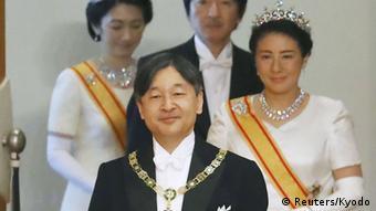 Japan - Kaiser Naruhito wird neuer Kaiser Japans