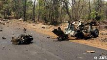 Indien Mumbai Maoisten brennen Autos privater Bauunternehmer nieder (IANS)