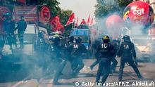 Frankreich Paris - Ausschreitungen am 1. Mai