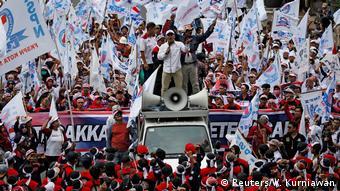 Indonesien Jakarta - Demonstrationen zum 1. Mai