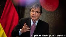 Kolumbien l Außenminister Maas trifft den kolumbianischen Außenminister Holmes Trujillo