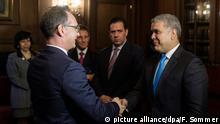 Kolumbien l Außenminister Maas trifft den kolumbianischen Präsidenten Ivan Duque Marquez